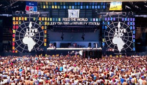 Bob Geldof play live
