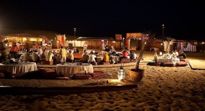 Desert camp on Dadabhai Travels