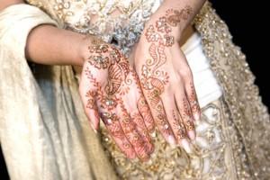 Arabic Henna paint