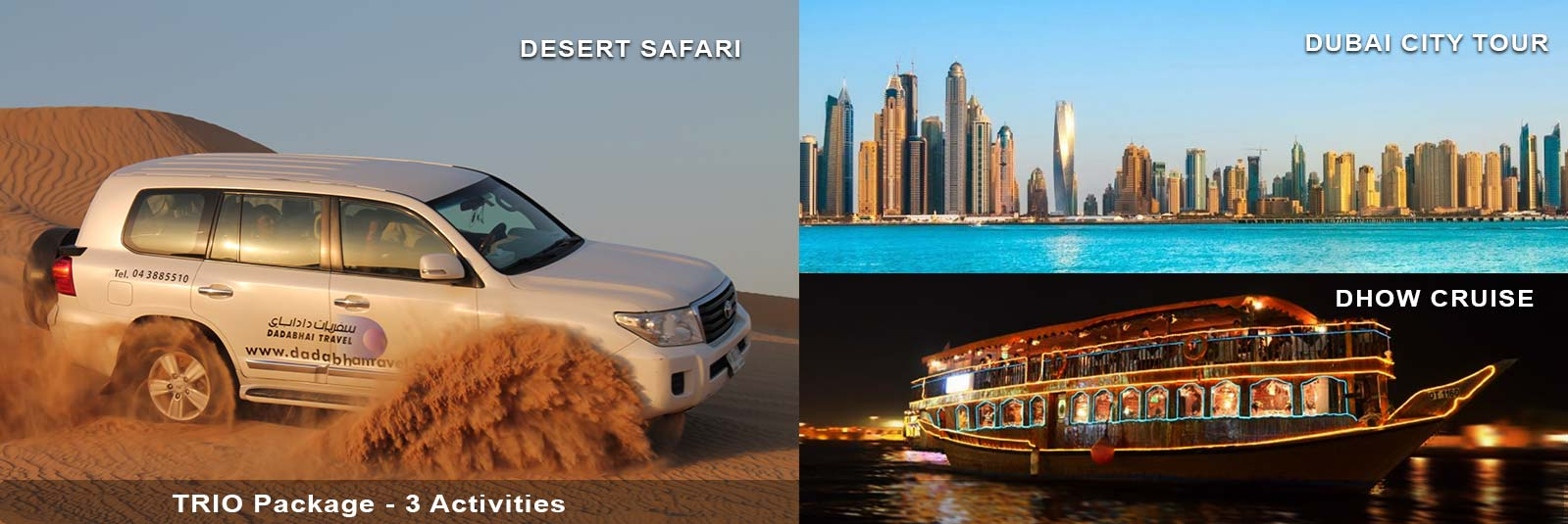 Trio-Package-Dubai-Safari-Dhow-Cruise-and-Dubai-City-Tour