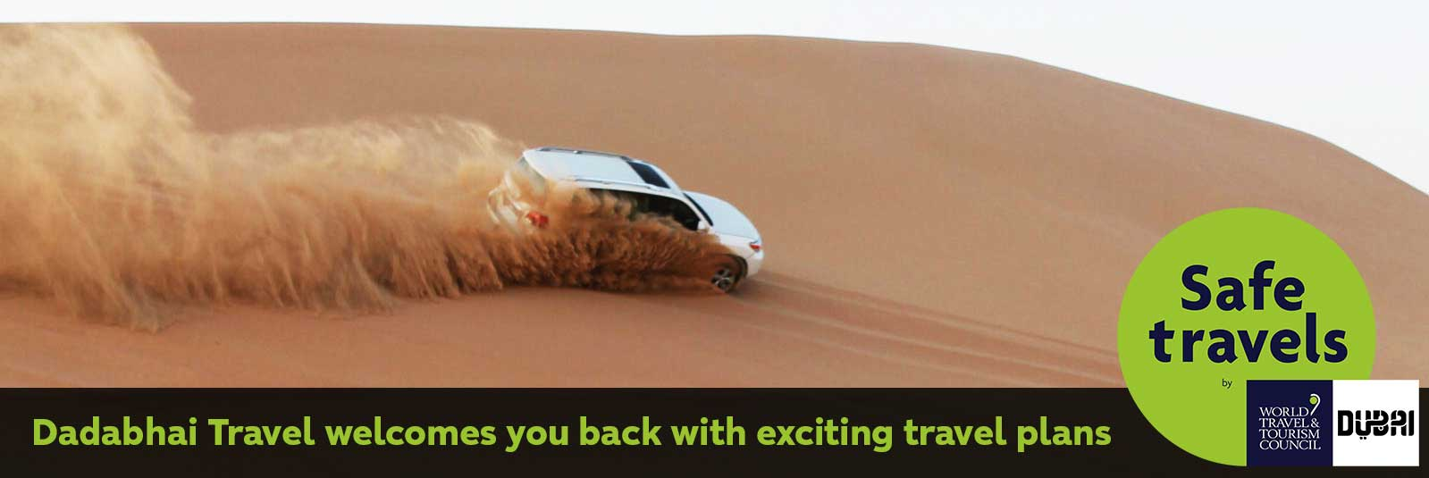 Dubai Safe Travels - Book Your Tickets & Package from Dadabhai Travel