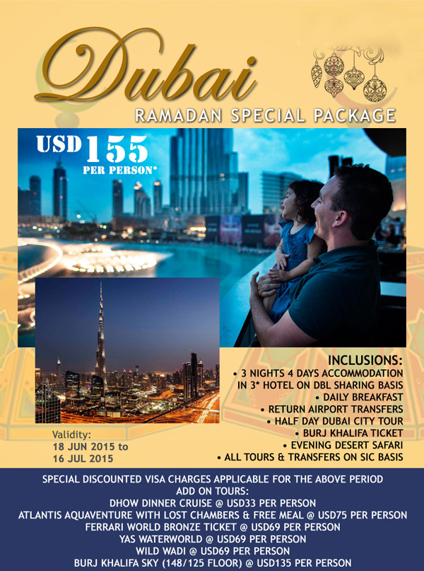 ramadan special promo   4 days package