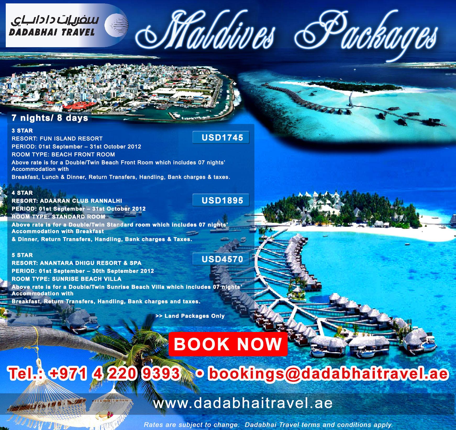 Maldives Packages LelakiOn