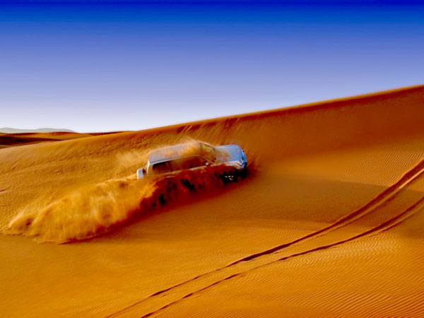 Family Fun on a Thrilling Desert Safari in Dubai