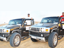 Hummer Evening Safari Dubai