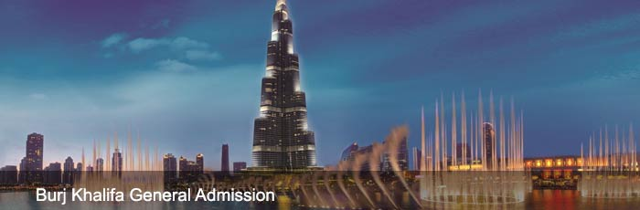 124 Floor Burj Khalifa General Admission Tickets