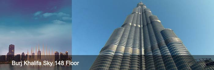 148 Floor Burj Khalifa General Admission Tickets